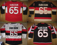 baseball jersey size chart - Erik Karlsson Senators hockey jerseys red black heritage classic colors please read size chart before order