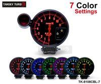 TYPE-R auto meter - Tansky universal quot Rpm Auto Gauge Tachometer COLOR settings LED AUTO GAUGE CAR METER TK CBL