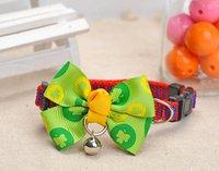 Wholesale 20pcs Fashion Design Pet Dog Bow Ties Grooming Ties Adjustable Neckties Pet Cat ties pet collar Dog Grooming Products KT01