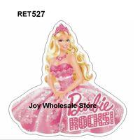 Wholesale RET527 x32mm Princess Flatback cartoon resin planar DIY handmade materials