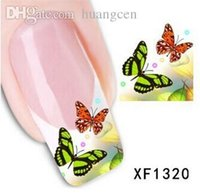 Wholesale XF1320 D watermark nail stickers animals cartoon characters new pattern nail stickers