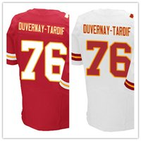 laurent - Factory Outlet Men s Laurent Duvernay Tardif Jersey Red White Stitched