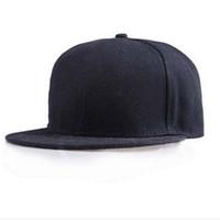 baseball amazing - Amazing Fashion Unisex Plain Snapback Hats Hip Hop Adjustable Baseball Cap Colors