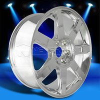 Wholesale 2015 New X Alloy Car Wheels Rim Chrome fit for Cadillac Escalade offset USA Stock