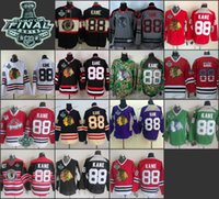 hockey jerseys - chicago patrick kane Practice CCM Throwback Final Stanley Cup Season ICE Hockey jerseys Price Polyester Jersey