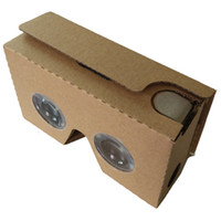 Wholesale Google Cardboard VR the second generation of virtual reality d glasses second generation box digital d glasses
