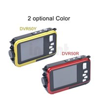 Wholesale 24MP Double Screens Waterproof Digital Camera inch inch Screens HD P CMOS x Zoom Camcorder mini Camera DVR50 Z