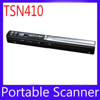 Wholesale Mini portable A4 document scanner TSN410 for documents letters photos