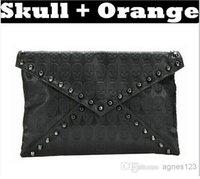 Cheap free shipping Lady Girl bags handbags women Skull Clutch Heads Envelope designer Handbag Single Shoulder Satchel top sale free shipping