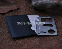 Cheap Free shipping 1000pcs lot Credit Card Emergency Survival Knife Mini Tool Card Camping Knife multifunctional Card Knife