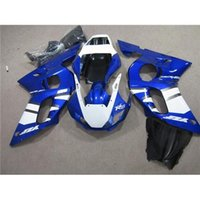 Wholesale For Yamaha YZF R6 Fairing Set Year Motorcycle Fairing Kit Blue and White Glossy Painting Motorbike YZF R6 Cool
