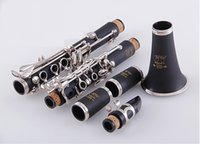 Wholesale JY Saxophone Clarinet B Flat Exquisite Lacquer high grade quality Clarinet Sino US joint venture Bb woodwind instruments