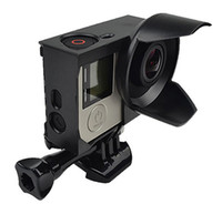 Wholesale Gopro Protective Frame with Lens Hood Sunshade Housing Frame for Gopro Hero