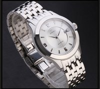 Wholesale 2015 New Stainless Steel Mechanical Movement ATM Water Resistant Business Watch for Men