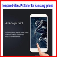 Wholesale 2 D Tempered Glass For iphone S Screen Protector mm Explosion Proof Film For iphone plus iphone S Galaxy S6 S5 Note5
