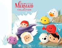 flounder fish - NEW arrival Tsum Tsum Ariel the Little Mermaid Flounder Fish and small crab mobile screen cleaner plush toys gift