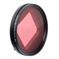 Wholesale GoPro accessories Professional Dive Housing mm Lens Converter Red Filter Dive For Gopro Hero4 Blue Water dedicated