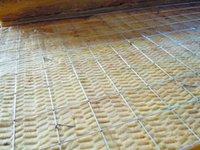 Mineral Wool - Wire insert mineral wool board