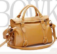 Wholesale high quality women hobo summer tote bag brown black