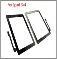 alloy digitizer - High quality For iPad iPad and iPad Touch Screen Digitizer replacements home button adhesive