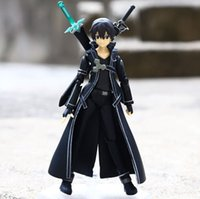 Wholesale Anime brinquedos sword art online Krito Dual wield sword sao PVC Action Figures Collection Model Toys Doll cm