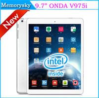 Wholesale Original ONDA V975i Tablet PC Inch Quad Core Intel Z3735D Retina Screen GB GB Bluetooth GPS HDMI Dual Camera