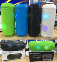 Pulse Q610 Bluetooth Mini haut-parleurs sans fil Haut-parleur portable Support FM Radio TF USB carte pour Smart Phone Stand Pill Pulse Rugby Speaker