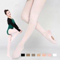 Wholesale 2015 Hot Sale Velvet Adult Dance Sock Panty Hose Professional Ballet Socks Dancing Ballerina Professional Leggings Women T