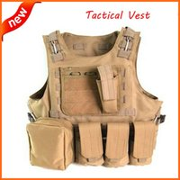 Wholesale 2015 Tactical Vest Military Outdoor Products Seal Camouflage Amphibious CS High quality