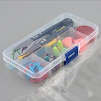 basic knitting supplies - Portable And Applicative Basic Knitting Tools Accessories Supplies Knitting Tool Kit with Case Knit Kit