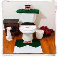 Cheap Snowman Toilet Seat Cover Best Bathroom Set ornaments christmas product