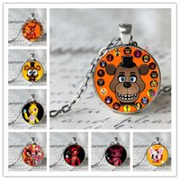Wholesale 12 styles fashion New necklace five nights at freddy s Necklace Top quality Five Nights At Freddy s FNAF necklace pendants