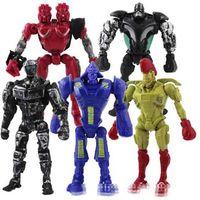 atom boy - New x Real Steel Atom Midas Noisey Boy Zeus CM PVC Action Figure Set