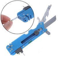 Wholesale Multifunction Blue Oil Feeding Carbon Tipped Glass Cutter Knife Cutting Tool