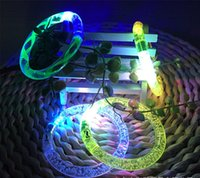 big candy bars - Bar Party Fashion Colour Bcelets Flash Acrylic LED Bracelet Colorful Hot Sales YH011