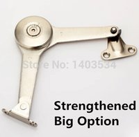 antique cabinet door hinges - Strengthened chrome shiny finish zinc alloy Arbitrary stop cabinet door support hydraulic hinge