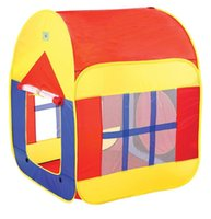 Wholesale Hot Sale Portable Foldable Children Kids Play Tents Outdoor Garden Toy Tent Pop Up Multicolor Independent House Play House WJ10