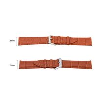 bamboo textures - Fashion Bamboo Texture Soft Watch Strap Fantastic Watchband Genuine Leather Wrist Watch Band with Stainless Steel Pin Buckle