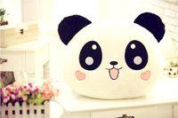 "Cheap new! 70cm 28"" Plush Doll Toy Stuffed Animal Cute Panda Pillow Quality Bolster MYF98"