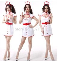 sexy bedroom costumes - 2014 New Fashion Sexy Open Front Nurse Uniform Costume Erotic Bedroom Sex Costume Deluxe Cosplay Nursing Costume For Women