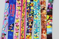 Wholesale Mickey Minnie Cello Phone Lanyard Neck Strap Keys Camera ID Card Lanyard LM15101