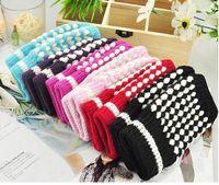 Wholesale fashion work glove Unisex winter keep warm Fingerless Gloves DHL ship