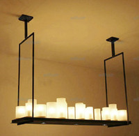 altar candles - Kevin Reilly Altar Modern Pendant lamp LED candle remote control chandelier Lighting Innovative metal fixture candle suspension lamp