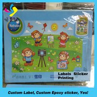 Wholesale Attractive custom car window sticker custom sticker printing