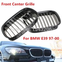 Wholesale Black Front Center Kidney Style Grille Grill For BMW E39 i i order lt no tracking