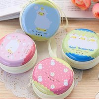 ai rounding - HOT D7CM Creative Sheep Headset Package May Ai Pula Girl Mini Round Tin Purse Handbags Handbags Of Famous Brands