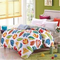 Wholesale single comforter cover quilt cover duvet cover coat blanket skirt bedding coat rose red blue the design of AB cover