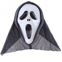Wholesale 1pc Terrified Scream mask Masquerade Mask Halloween Party Fancy Dress Costume Face Mask Hot Party Supplies