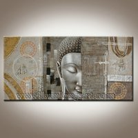 Cheap One Panel buddha painting Best Oil Painting modern canvas oil painting