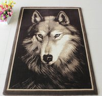 Wholesale home D carpet cm wolf patterns thick encryption polypropylene carpet mats living room bedroom decor